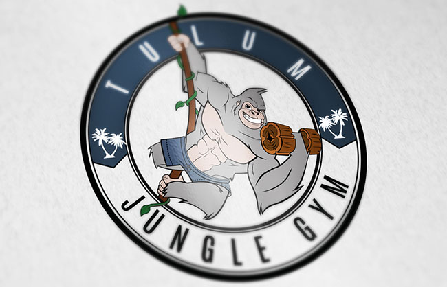 logotype design for Tulum Jungle Gym